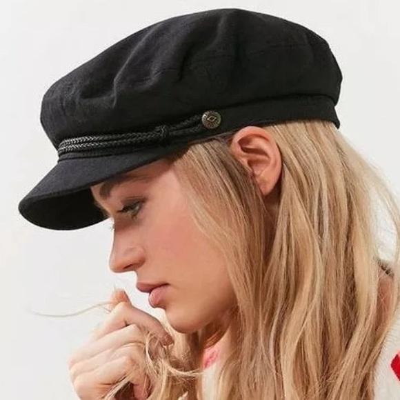 Brixton Accessories - NEW XS Brixton Fiddler Black Cabbie Hat 777253774cf6